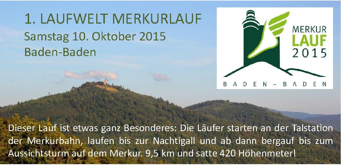 1. Laufwelt Merkurlauf 2015 - Laufwelt - Rastatt-Wintersdorf