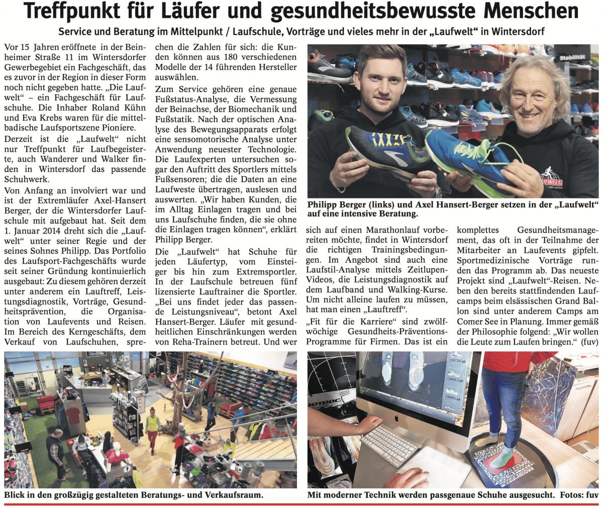 15 Jahre Laufwelt in Rastatt-Wintersdorf - Laufwelt ...